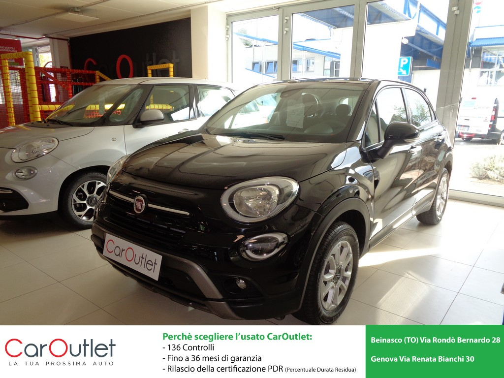 FIAT 500X 1.6 MultiJet 120 CV City Cross Diesel usata
