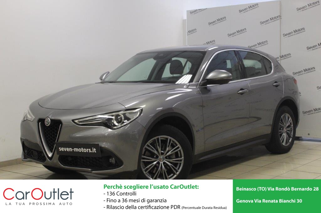 ALFA Stelvio 2.2 Turbodiesel 210 CV AT8 Q4 Executive Diesel usata