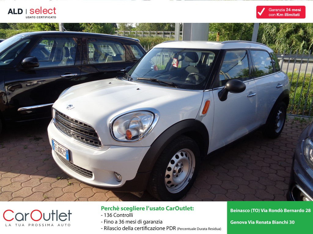 MINI Mini 1.6 Cooper D Business Countryman Diesel usata
