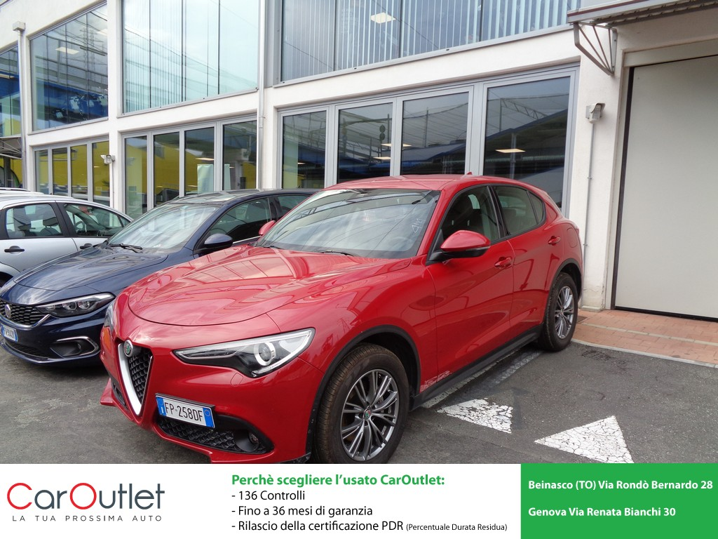 ALFA Stelvio 2.2 Turbodiesel 180 CV AT8 Q4 Executive Diesel usata
