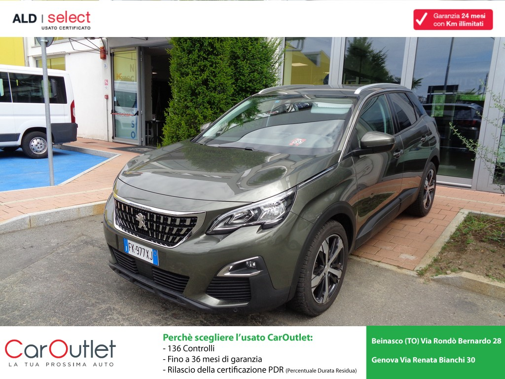 PEUGEOT 3008 1.6 BlueHDi 120 S&S Business Diesel usata
