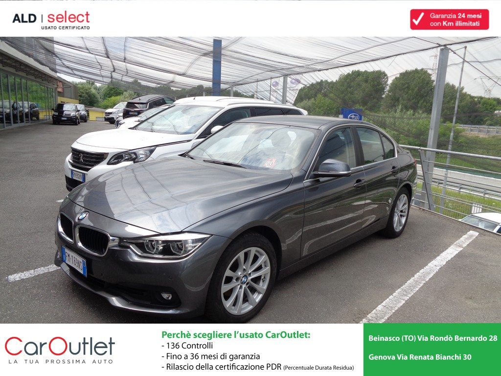BMW 316d Business Advantage aut. Diesel usata