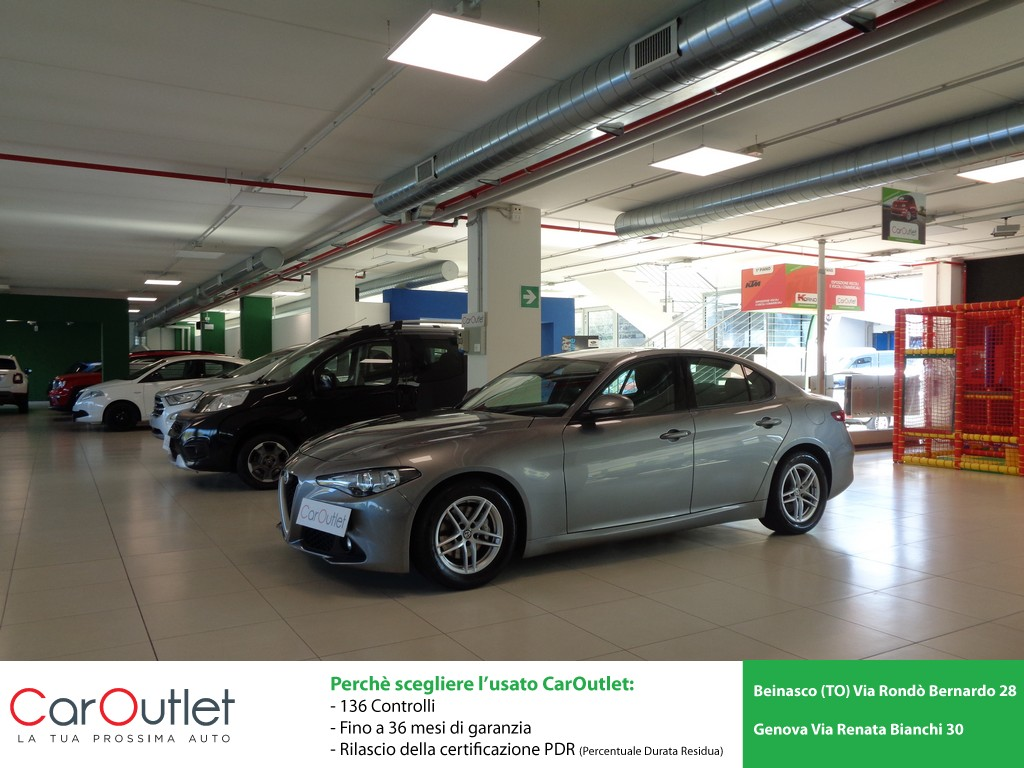 ALFA Giulia 2.2 Turbodiesel 150 CV AT8 Business Diesel usata