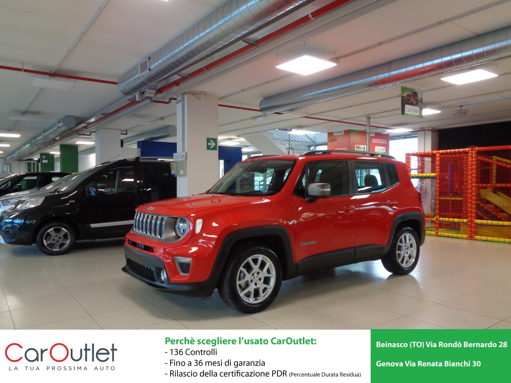 JEEP Renegade 1.0 T3 Limited Benzina usata